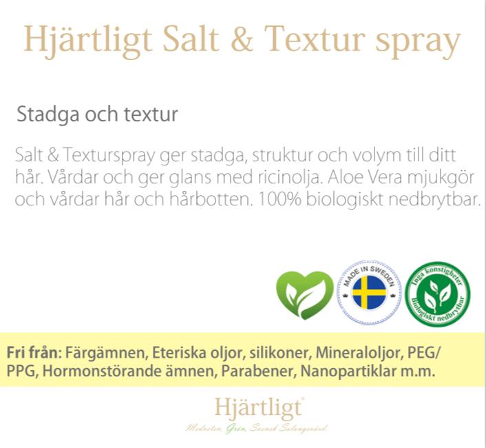 Skyltmaterial -Hyllkant- Salt & Texturspray