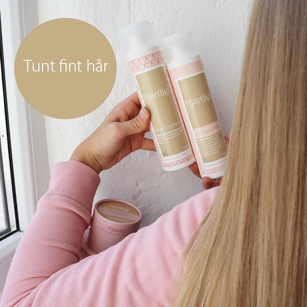 .Tunt fint hår